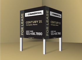 Commercial Signs - Century 21