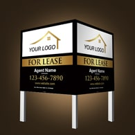 Commercial Signs - Independent Realtor
