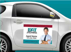 Car Magnets - Exit Realty