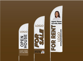 Custom Feather Flags - Independent Realtor