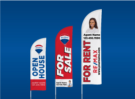 Custom Feather Flags - RE/MAX