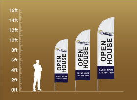 Custom Feather Flags - iPro Realty