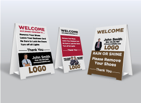 Custom </br>Remove Shoes Signs