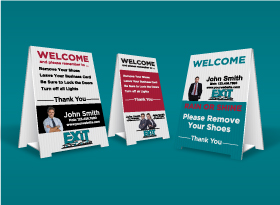 EXIT Realty</br>Custom Remove Shoes