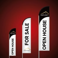 Custom Feather Flags - Keller Williams