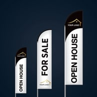 Custom Feather Flags - Macdonald Realty