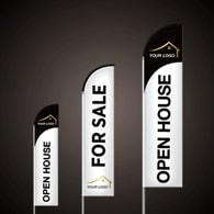 Custom Feather Flags - Realty World