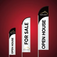 Custom Feather Flags - Royal LePage