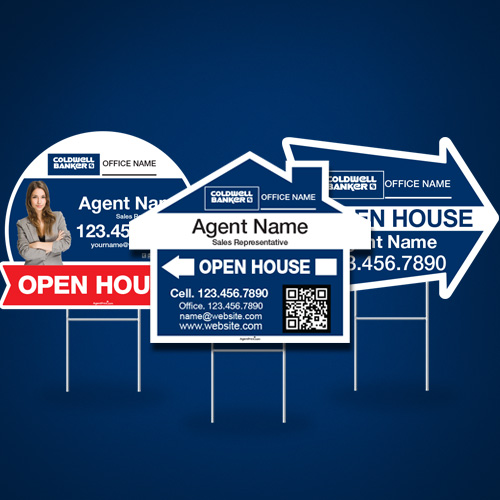 Directional Signs (Shaped)<br><br> - Coldwell Banker