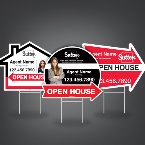 Directional Signs (Shaped)<br><br> - Sutton
