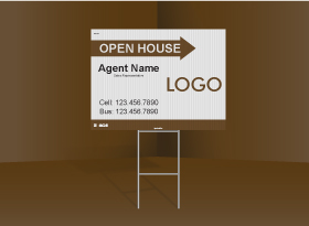 Directional Signs Standard (4mm) - Independent Realtor