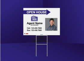 Directional Signs Standard (4mm) - Right at Home