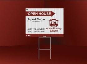 Directional Signs Standard (4mm) - JDL