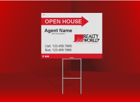Directional Signs Standard (4mm) - Realty World