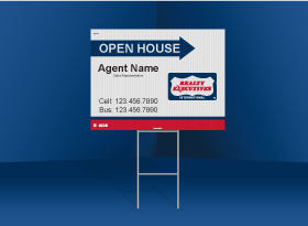Directional Signs Standard (4mm) - Realty Executives