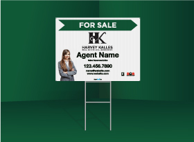 Directional Signs Standard (4mm) - Harvey Kalles Real Estate