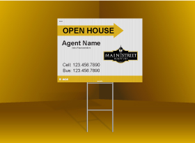 Directional Signs Standard (4mm) - Main Street Realty