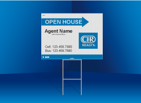 Directional Signs Standard (4mm) - CIR Realty