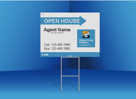Directional Signs Standard (4mm) - Relaxed Living Realty Inc.