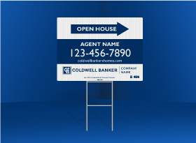 Directional Signs Standard (4mm) - Coldwell Banker