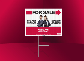 Directional Signs Standard (4mm) - Keller Williams