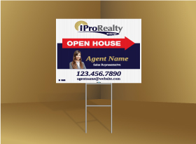 Directional Signs Standard (4mm) - iPro Realty