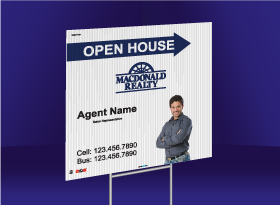 Directional Signs (10mm) - Macdonald Realty