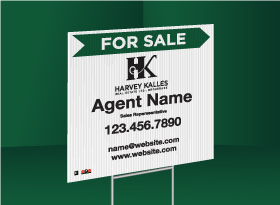 Directional Signs (10mm) - Harvey Kalles Real Estate