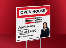 Directional Signs (10mm) - Royal LePage