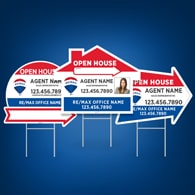 Directional Signs (Shaped) - RE/MAX