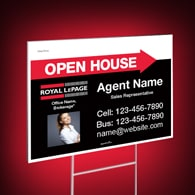 Directional Signs Standard (4mm) - Royal LePage