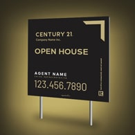 Directional Signs Standard (4mm) - Century 21