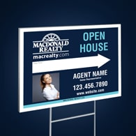 Directional Signs Standard (4mm) - Macdonald Realty