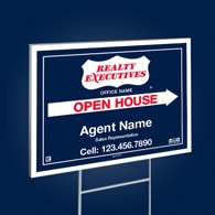 Directional Signs (10mm) - Realty Executives