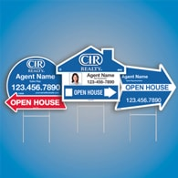 Directional Signs (Shaped) - CIR Realty