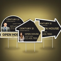 Directional Signs (Shaped) - Century 21