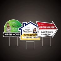 Directional Signs (Shaped) - Realty World