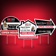Directional Signs (Shaped) - Royal LePage