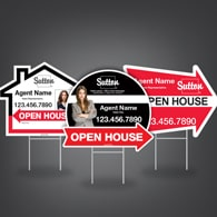 Directional Signs (Shaped) - Sutton