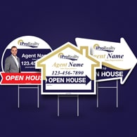 Directional Signs (Shaped) - iPro Realty