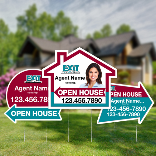Directional Signs (Shaped)<br><br> - Exit Realty