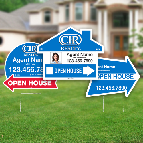 Directional Signs (Shaped)<br><br> - CIR Realty