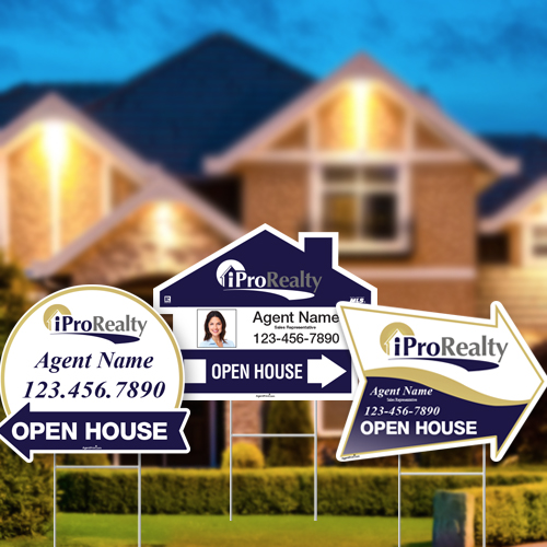 Directional Signs (Shaped)<br><br> - iPro Realty