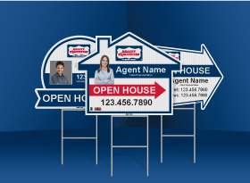 Directional Signs (Shaped) - Realty Executives