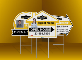 Directional Signs (Shaped) - Main Street Realty