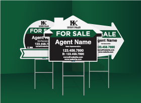 Directional Signs (Shaped) - Harvey Kalles Real Estat