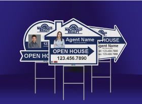 Directional Signs (Shaped) - Macdonald Realty
