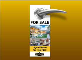 Door Hangers - Main Street Realty