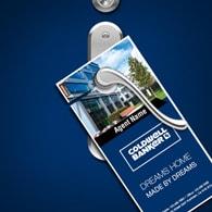 Door Hangers - Coldwell Banker