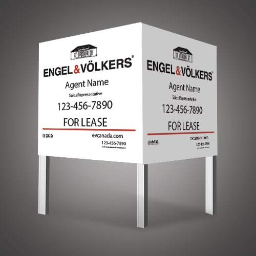 Commercial Signs - ENGEL & VOLKERS